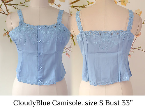 Cloudy Blue Camisole size S B