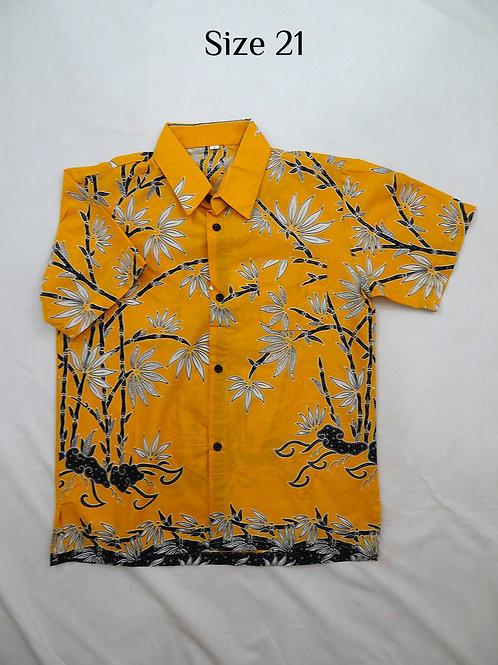Boy Batik Shirt. size 21