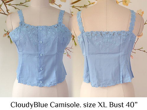 Cloudy Blue Camisole size XL B