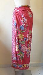 nyonya nonya batik sarong rayon singapore