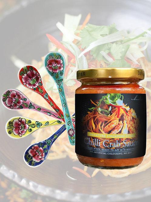 Curve spoon 1pc + Halia's Chilli Crab Sauce