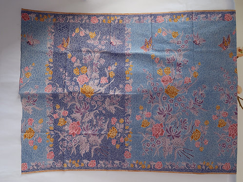 Sarong Blue Butterfly 2 Sided Liem Ping Wie