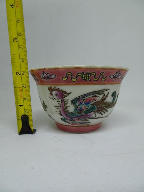 Baba Phoenix Porcelain Tea Cup (1pc)