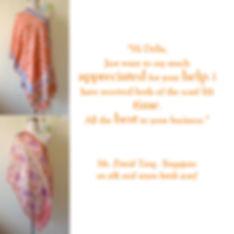 peranakan scarf singapore batik nyonya