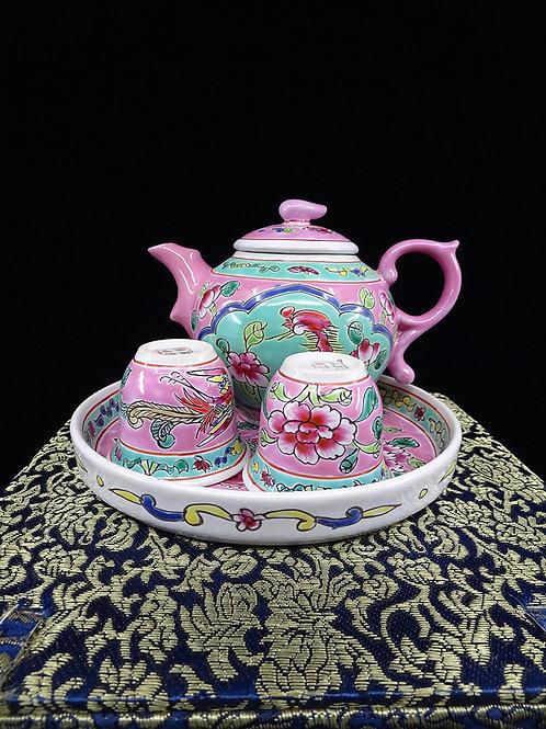 Mini Tea Set Pink in Box