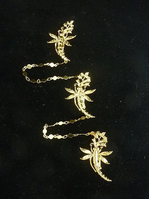 Kerosang Vintage Style Dragonfly