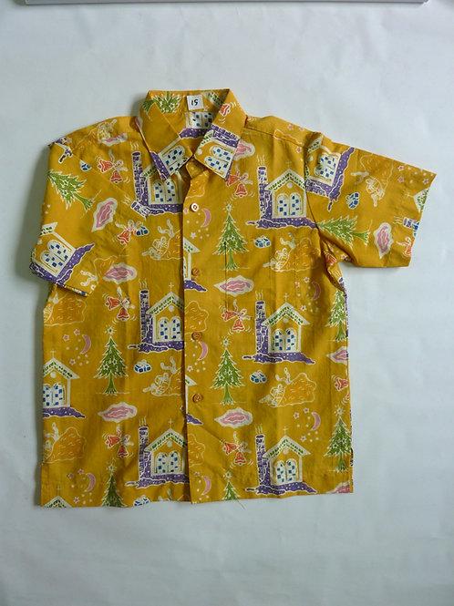 X'mas Yellow Shirt. 5 years