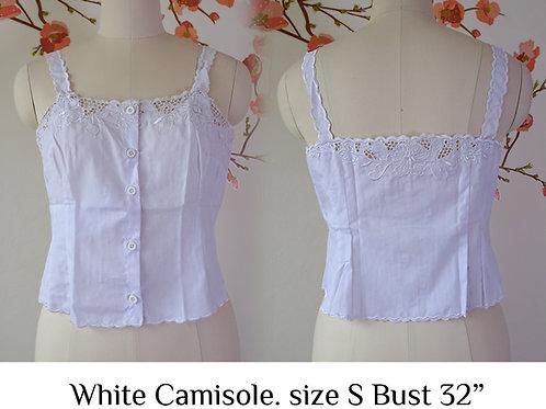 White Camisole size S