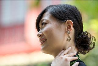 peranakan earring costume jewellery singapore