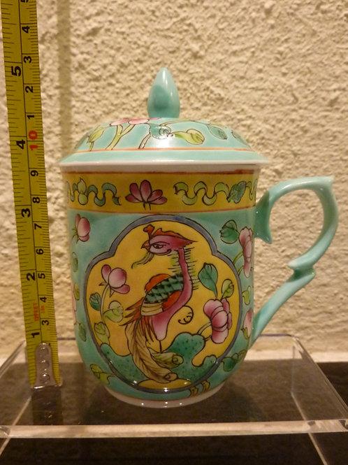 Mug with Lid Turquoise