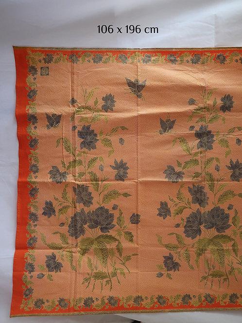 Hipwrap Floral Butterfly Orange on Cotton