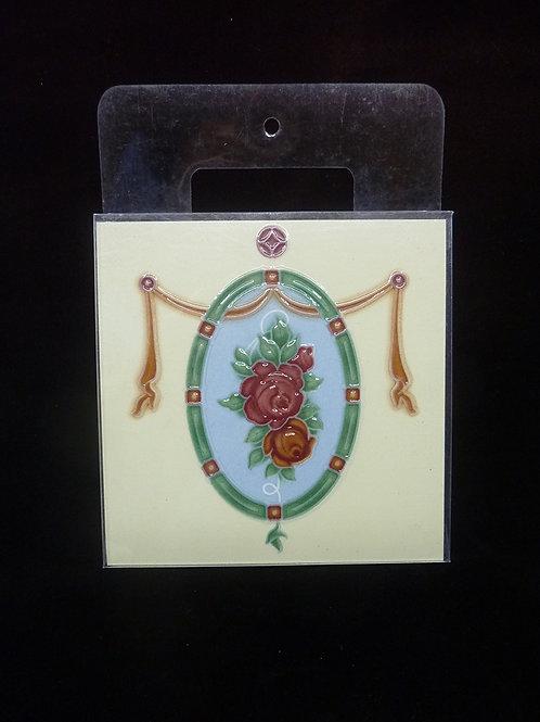 Ceramic Coaster Tile J 15x15cm