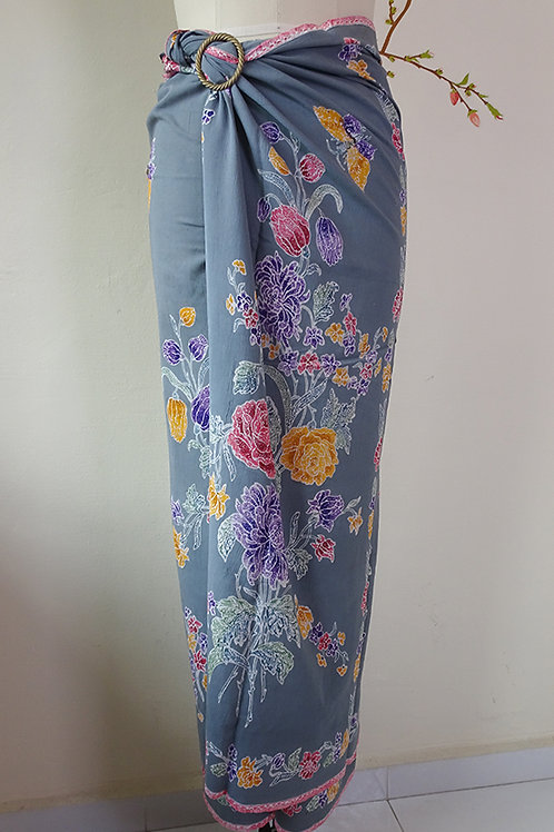 Rayon Sarong Light Grey