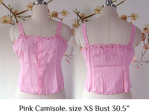 Pink Camisole size XS A