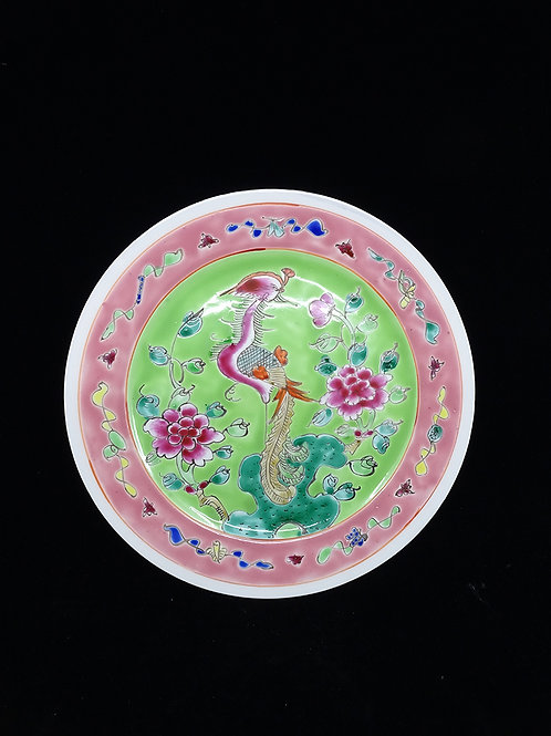 Phoenix Porcelain Flat Plate Phoenix Lime