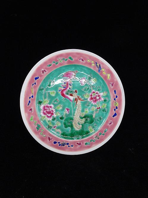 Phoenix Porcelain Flat Plate Phoenix Turquoise