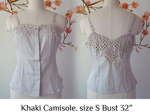 Khaki Camisole size S
