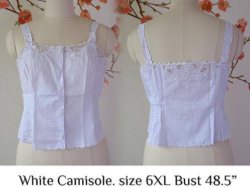 White Camisole size 6XL