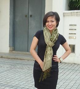 silk scarf batik handmade singapore block print