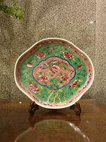 plate porcelain peranakan baba nyonya singapore