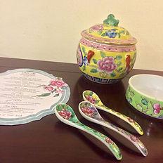 kamcheng spoon porcelain peranakan nyonya singapore