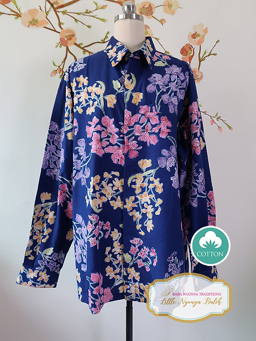 SBML: Orchid Blue on cotton. No Lining (XXL)