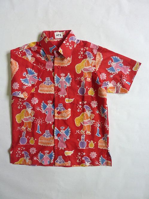 X'mas Red Shirt. 13 years