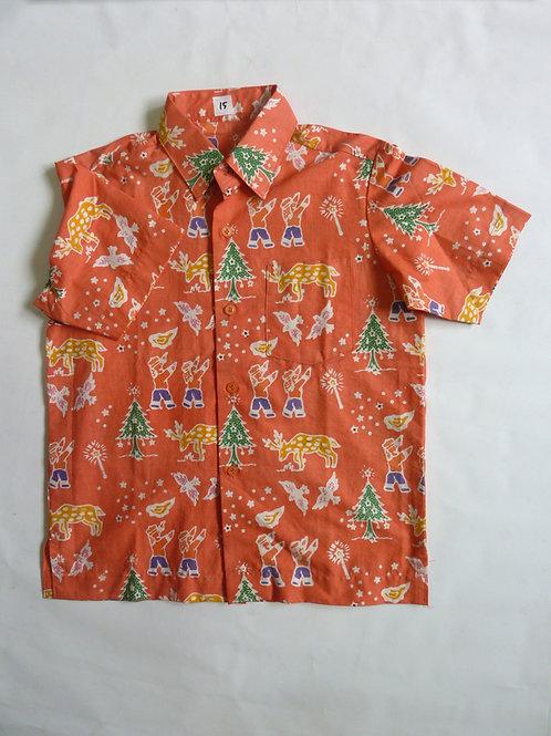 X'mas Orange Shirt. 5 years