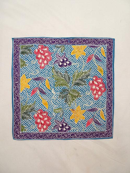 Small Hankie/Napkin Blue Grapes A