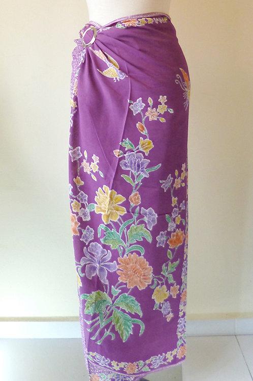 Rayon Sarong Purple