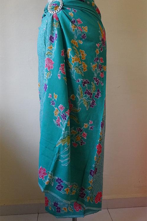 Rayon Sarong Turquoise