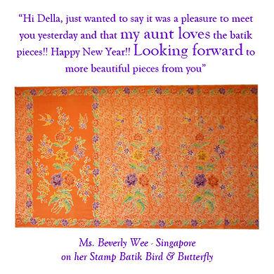 peranakan batik sarong nonya nyonya singapore indonesia