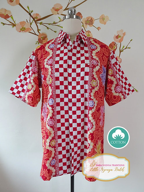SBMS: Orchid Red on Cotton (M) no Lining