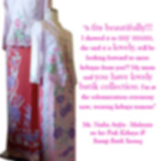 peranakan batik sarong embroidery kebaya malaysia singapore indonesia culture nonya nyonya