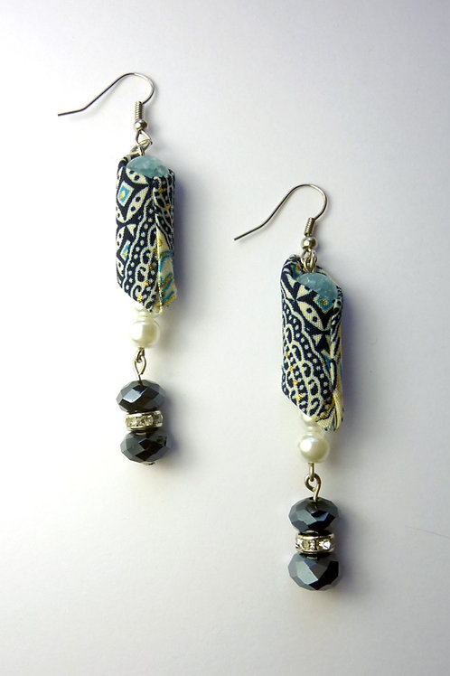 Handmade Batik Earring