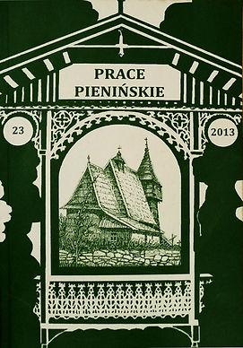 2013 -Prace Pienińskie, tom23, n. 300 egz.