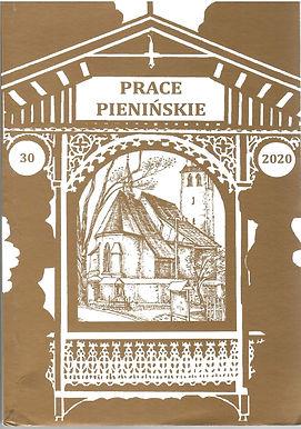2020 - Prace Pienińskie, tom 30,n. 300 egz.