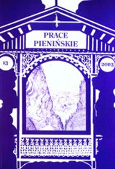 2003 -Prace Pienińskie, tom13, n. 300 egz.