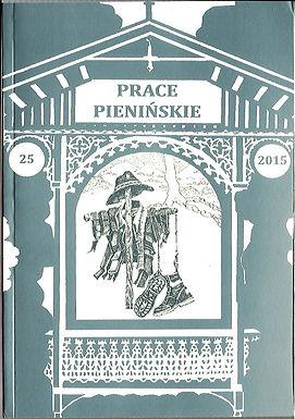 2015 -Prace Pienińskie, tom25, n. 36 egz.