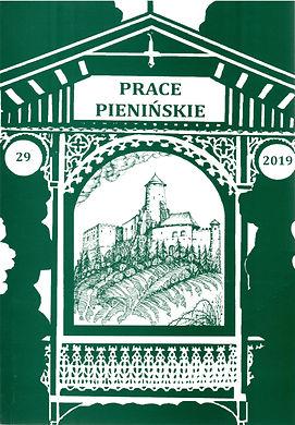 2019 -Prace Pienińskie, tom29, n. 300 egz.