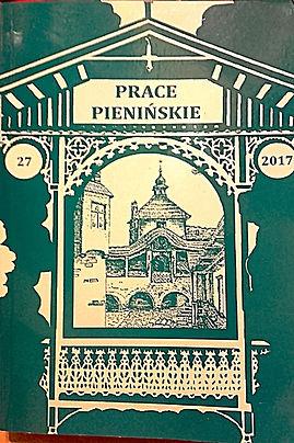 2017 -Prace Pienińskie, tom27, n. 300 egz.