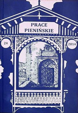 2014 -Prace Pienińskie, tom24, n. 300 egz.