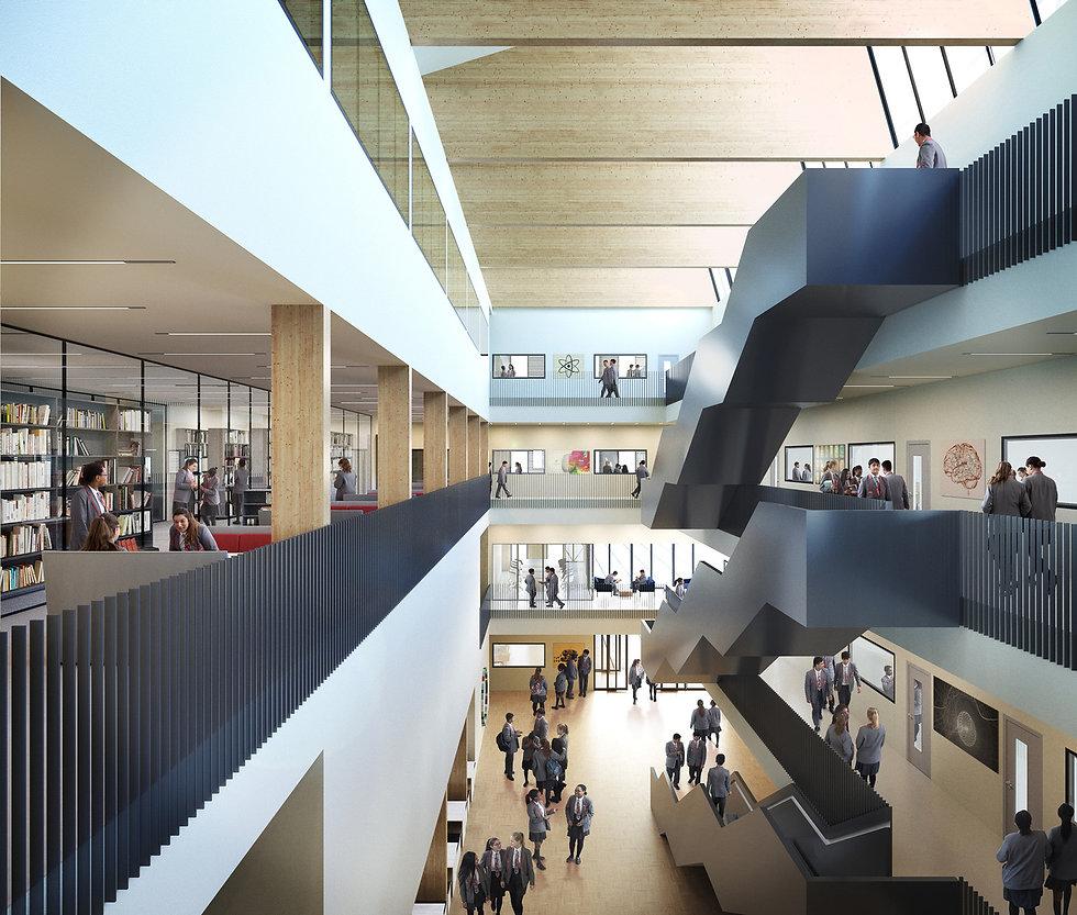 East London Science School by Sheppard R