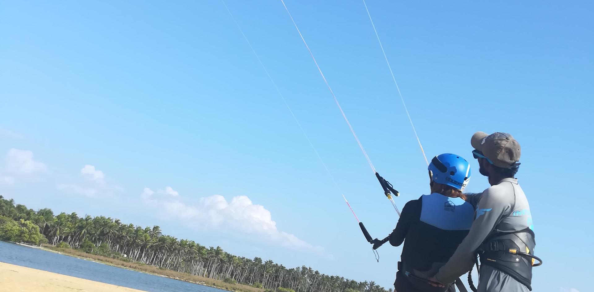 Learn Kite surfing Sri Lanka