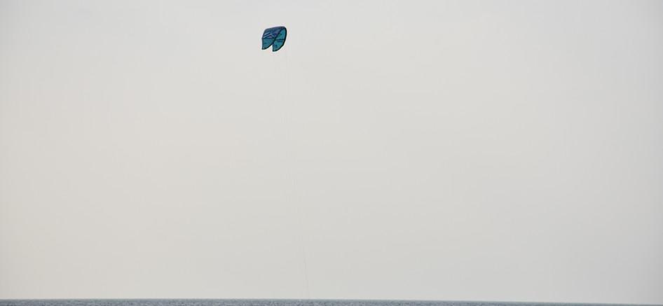 Kite lesson from boat Sri Lanka