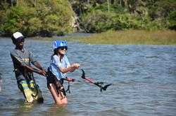 Learn kitesurfing in Sri Lanka