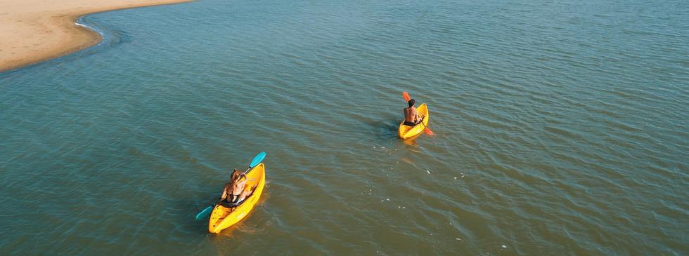 Kayaking Kappalady Lagoon