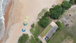 Swimming pool next to the kite spot Sri Lanka