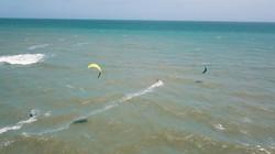 wave kiting spot Kappalady Sri Lanka