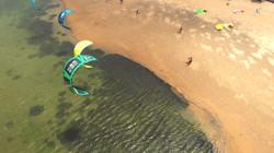 Best Kite Spot Sri Lanka - Kappalady Lagoon